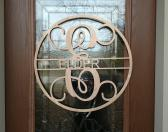 Monogram Signs for Front Door Decor