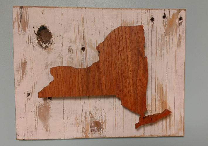 New York State Silhouette
