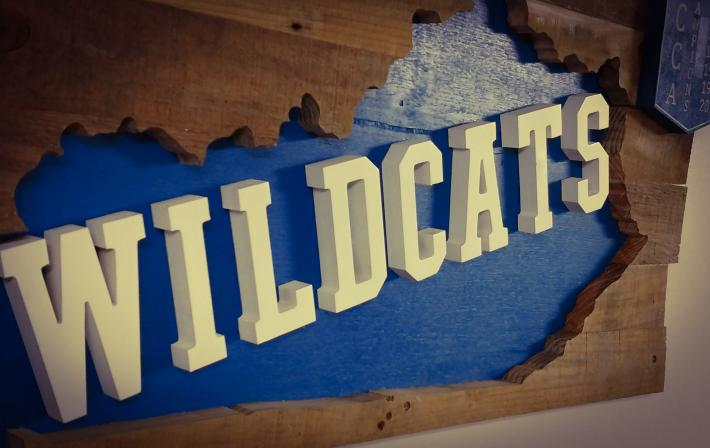 Kentucky Wildcat Sign