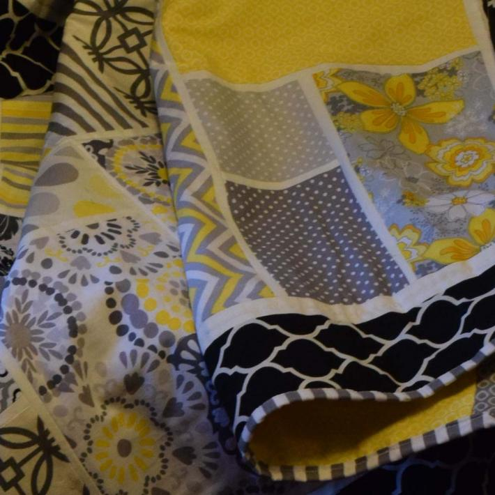 Summer Patchwork Quilt