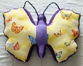Butterfly Novelty Throw Pillow