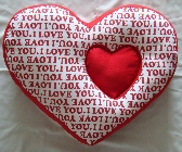 I Give You My Heart Novelty Throw Pillow