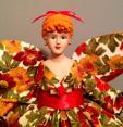 Handmade Angel Doll Thanksgiving Hostess Gift Doll OoaK Art Doll