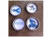 St Edmunds Fighting Blue Jays Magnets