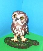 Northern Saw Whet Owl Sculpture