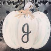 Repurposed Farmhouse Sign pumpkin
