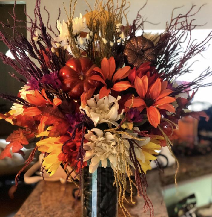 Fall Floral Arraignment