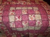 Sweet Blossoms Rag Quilt