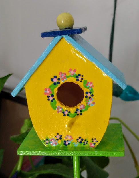 Birdhouse Plant Pokes