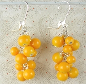 Bunch of Oranges earrings
