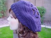 Crochet Woman Beret