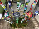 Beaded Plant Stake