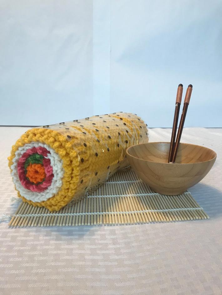 Sushi Tamago Yaki Roll