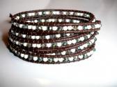 Desert Sands Leather Wrap Bracelet