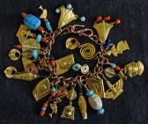 The Mystery of Egypt Charm Bracelet