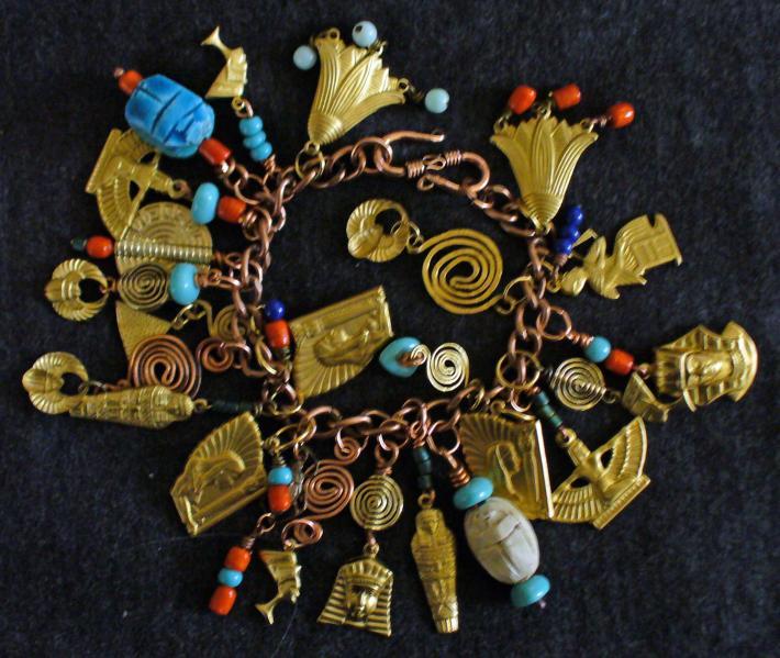 The Mystery of Egypt Charm Bracelet