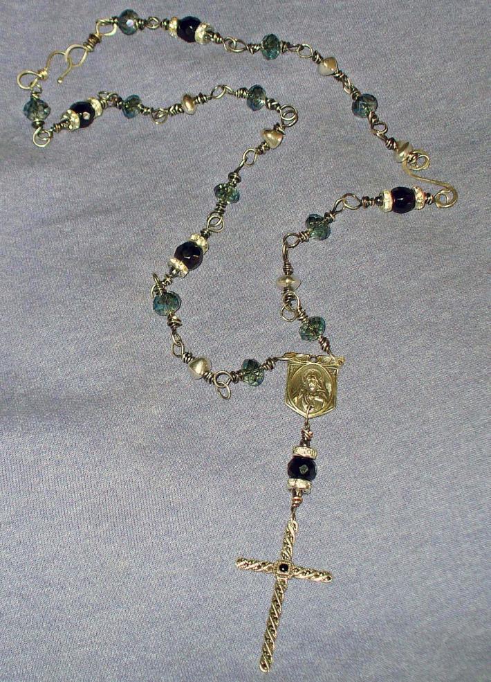 The Vintage Marcasite Cross