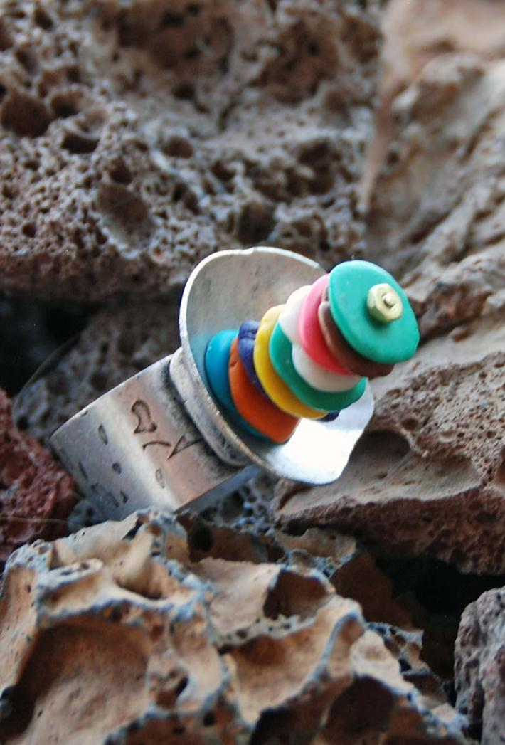 Candy Stacked Ring
