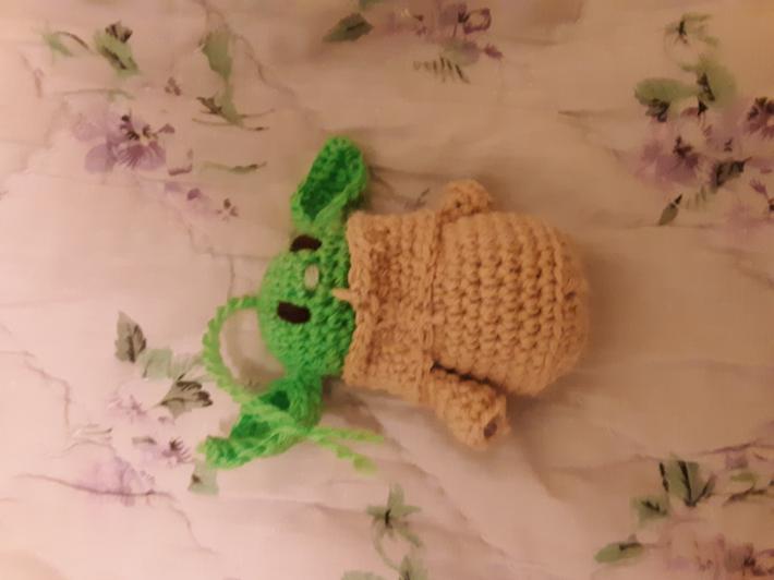 3in Baby Yoda ornament