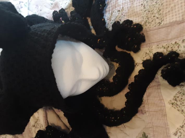 Octopuss hat adult sized