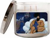 3 Wick Soy Candle Stay at Home Work at Home Relaxation Gift Poseidon