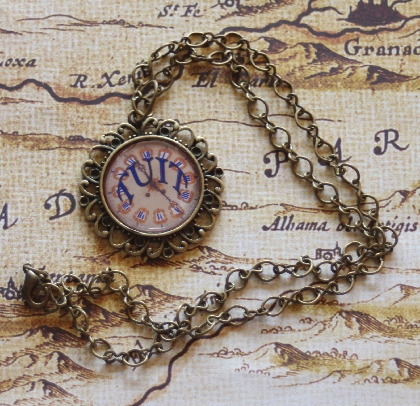 Get A Steampunk Round Tuit Necklace