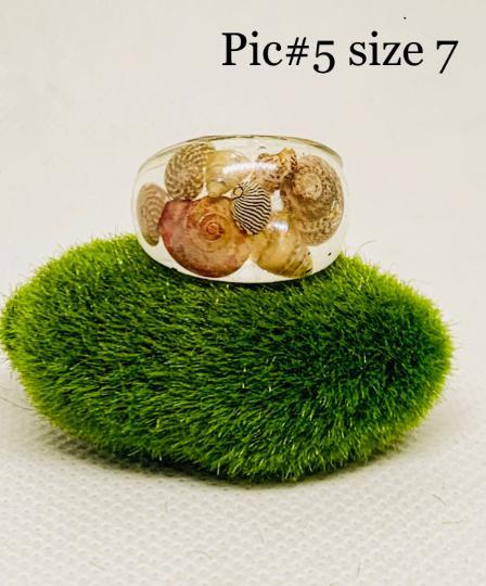 Seashell ring boho beach ring ocean jewelry ocean inspired beach fashion seashell jewelry beach inspired minimalist ring seashell ocean ring