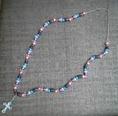 Living Water Handmade Cross Necklace