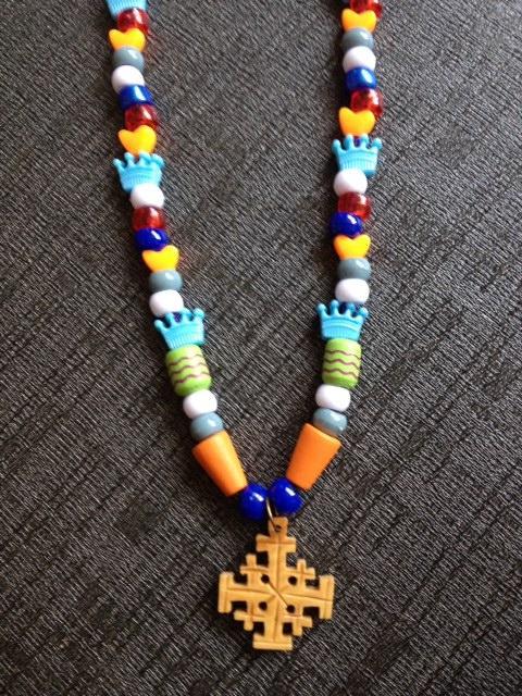 Tower of David Jerusalem Cross Necklace
