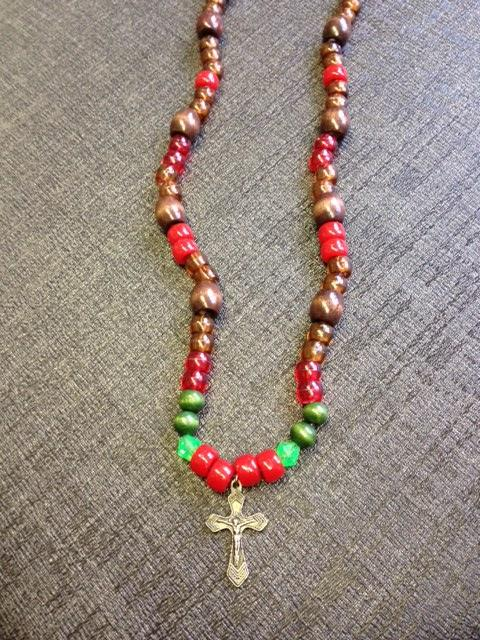St Valentines Day Bead Necklace