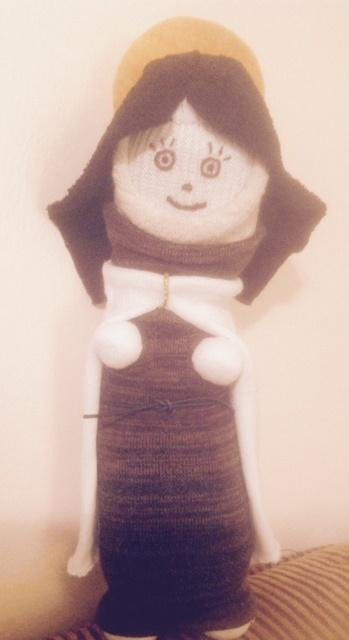 Sock Saint Teresa of the Andes Doll