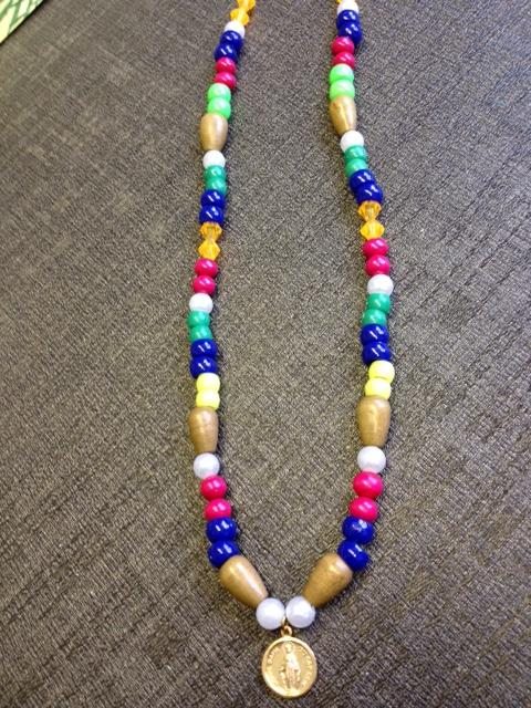Lady of the Cape Bead Necklace