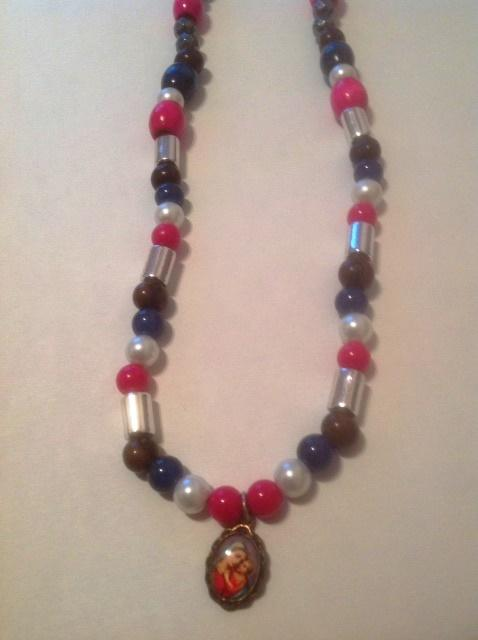 Our Lady of Good Counsel Bead Necklace