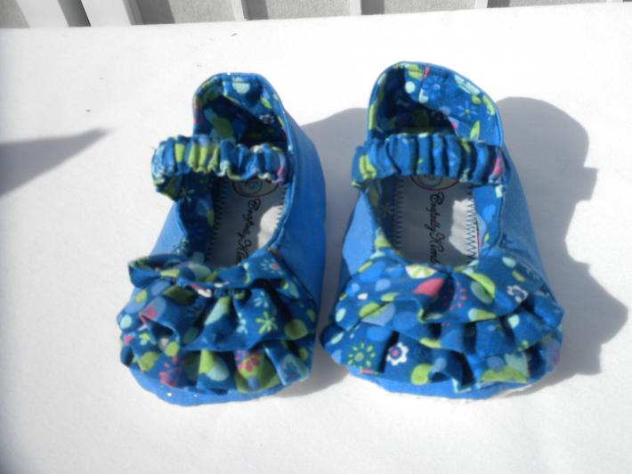 Mary Jane Shoes For That Special Baby girl Baby Slippers With Ruffles and NonSkid Soles Baby shower present Baby girl gift