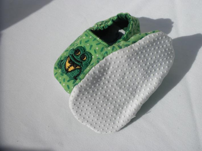 Lively frogs baby boy moccasins Why should little girls have all the fun Lively frogs little boy cuteness