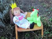 12 inch Waldorf Doll Little Princess And Her Magical Dragon