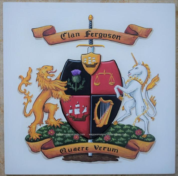 Metal Wall Plaque Family Coat of Arms Outdoor house plaque