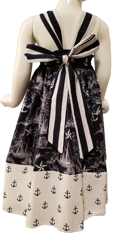 Nautical Bow Dress