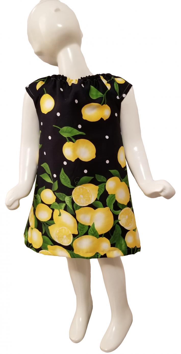 Lemon Drop ALine Dress