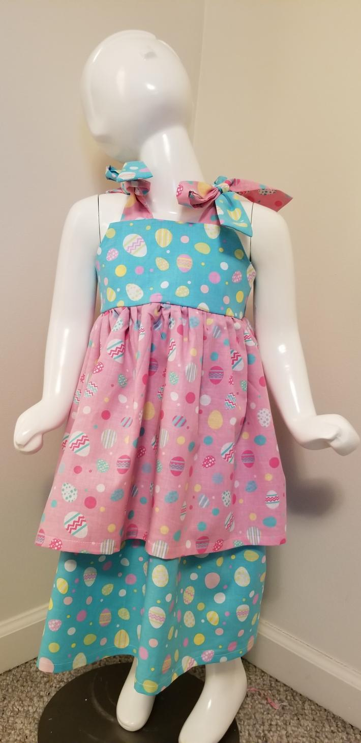 Double Layer Easter Dress
