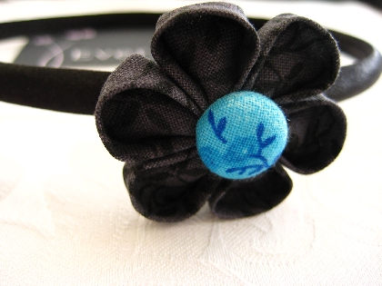 Folded Flower Headband