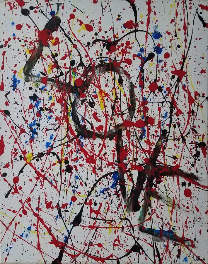 Acrylic Painting Love