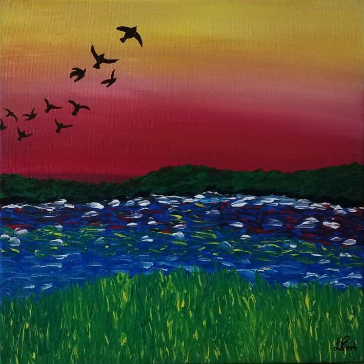Acrylic Painting Landscape