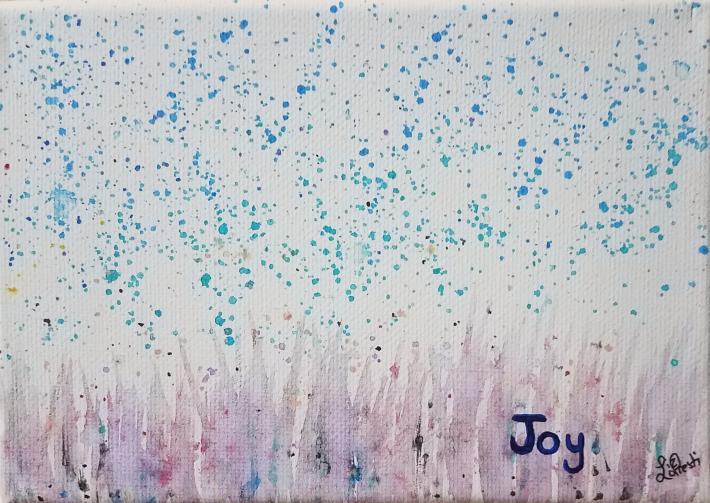 Joy Acrylic Painting