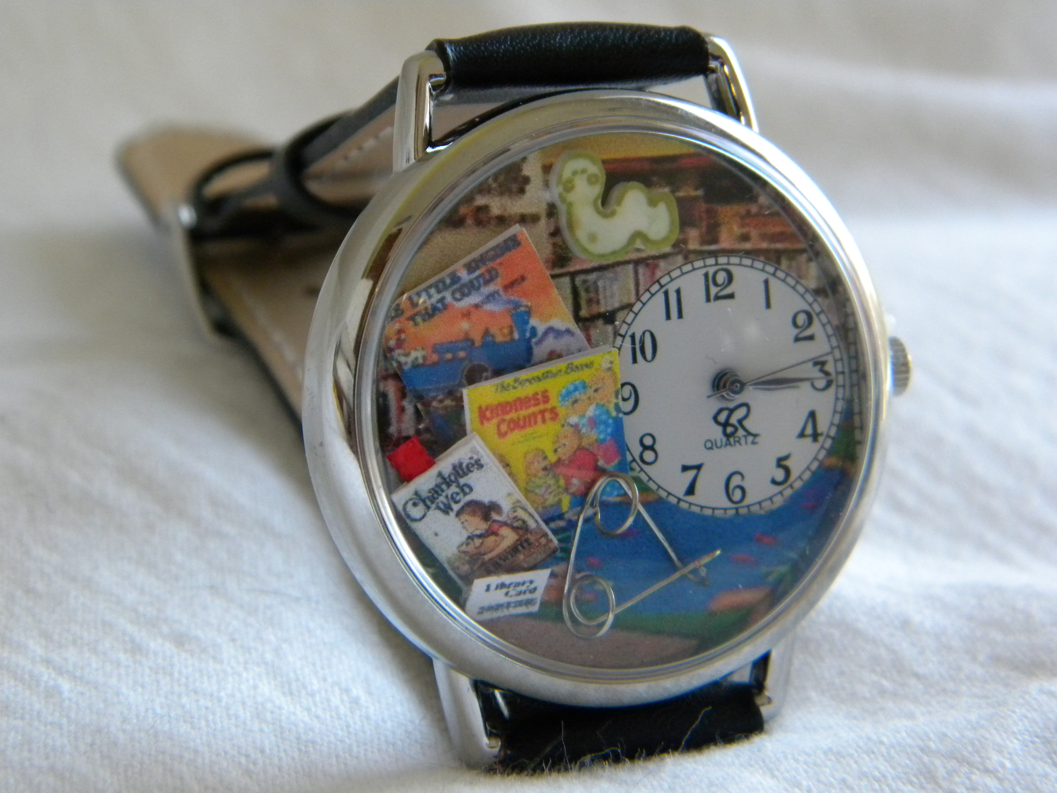 Childrens Librarian Watch by SunnyRiverCreations