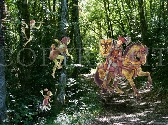 Fairies Game in the Forest