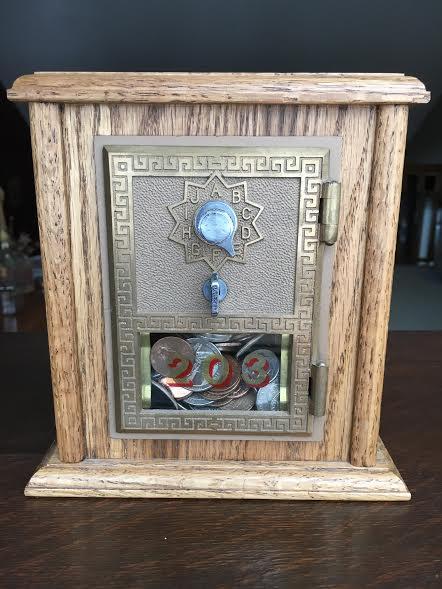 Post Office Box Door Coin Bank  Medium