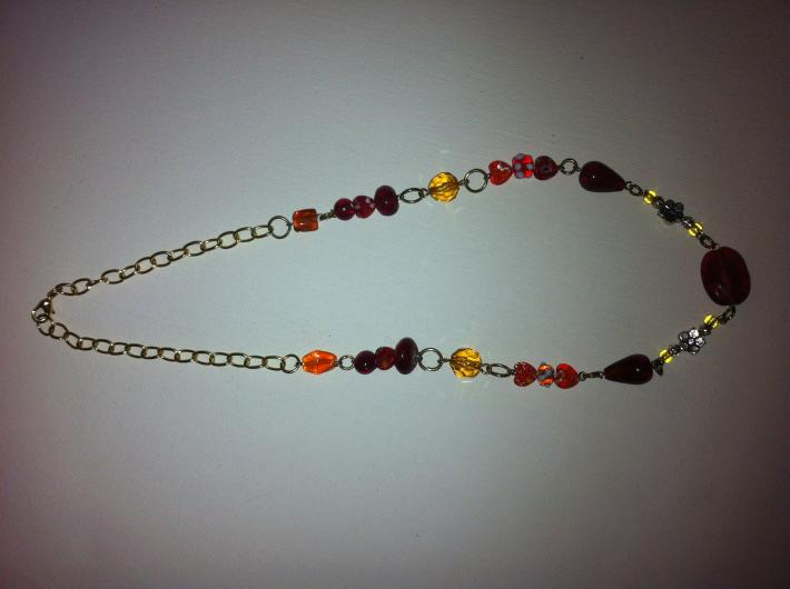 bright colors necklace
