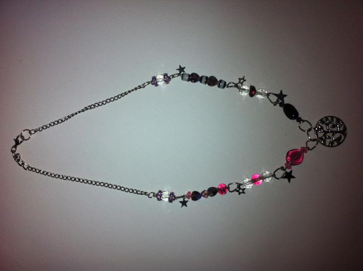 hippie tree of life necklace
