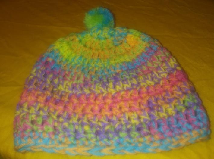 Crocheted Toddler Hat